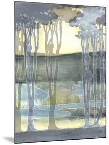 Non-Embellishd Nouveau Landscape II by Jennifer Goldberger