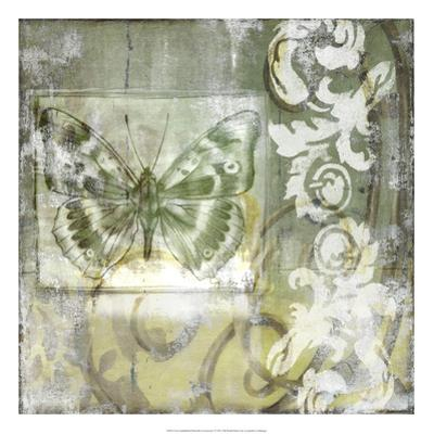 Non-Embld. Butterfly & Ironwork I