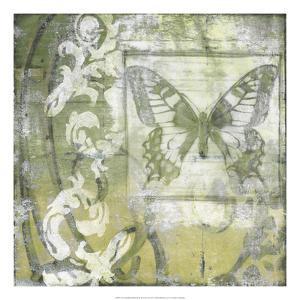 Non-Embld. Butterfly & Ironwork II by Jennifer Goldberger