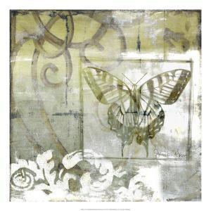 Non-Embld. Butterfly & Ironwork III by Jennifer Goldberger