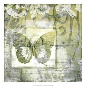 Non-Embld. Butterfly & Ironwork IV by Jennifer Goldberger