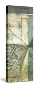 Non-Embld. Stained Glass Garden III by Jennifer Goldberger