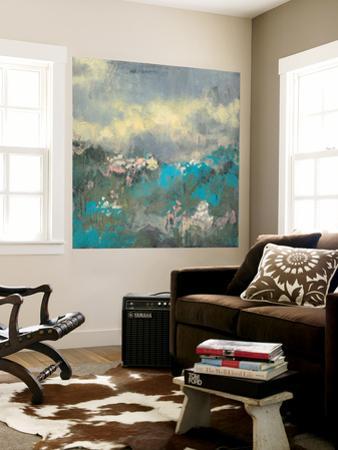 Painterly Field I by Jennifer Goldberger