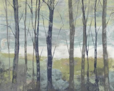 Pastel Birches I by Jennifer Goldberger