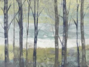 Pastel Birches II by Jennifer Goldberger