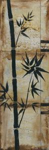 Patinaed Bamboo I by Jennifer Goldberger