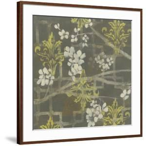 Patterned Blossom Branch I by Jennifer Goldberger