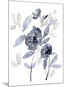 Peonies in Grey I by Jennifer Goldberger