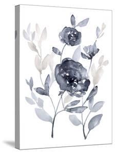 Peonies in Grey II by Jennifer Goldberger
