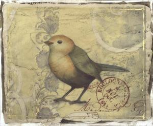 Postcard Song I by Jennifer Goldberger