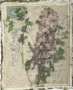 Postcard Wildflowers I by Jennifer Goldberger