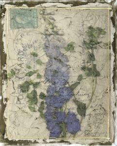 Postcard Wildflowers II by Jennifer Goldberger