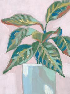 Quirky Plant II by Jennifer Goldberger