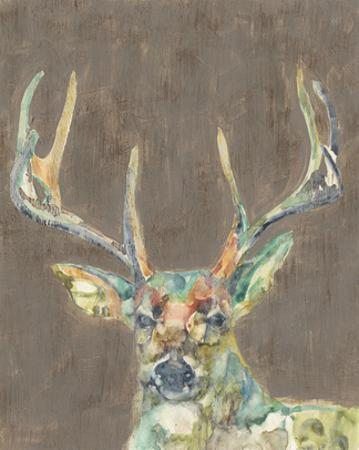 Rustic Wildlife I by Jennifer Goldberger