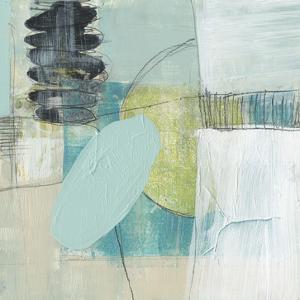 Seafoam Orbs II by Jennifer Goldberger