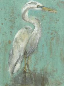 Seaspray Heron I by Jennifer Goldberger