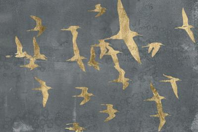 Silhouettes in Flight IV by Jennifer Goldberger