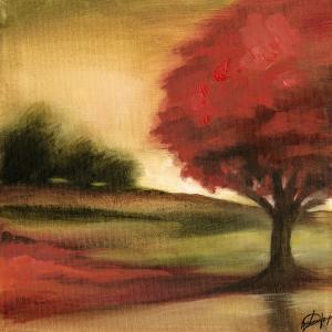 Small Maple Harvest I by Jennifer Goldberger