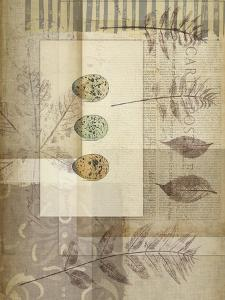 Small Notebook Collage IV by Jennifer Goldberger