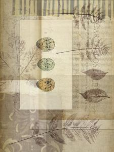 Small Notebook Collage IV by Jennifer Goldberger