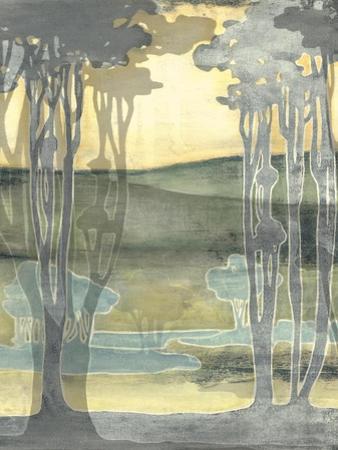Small Nouveau Landscape I by Jennifer Goldberger