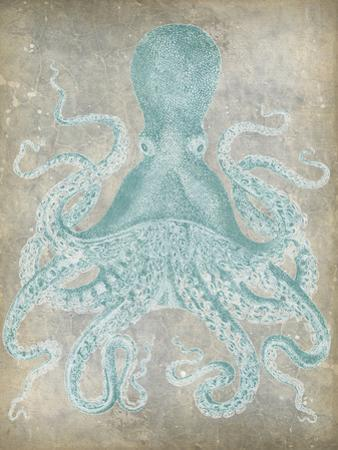 Spa Octopus I by Jennifer Goldberger