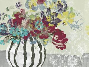 Spray of Flowers I by Jennifer Goldberger