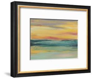 Sunset Study III by Jennifer Goldberger