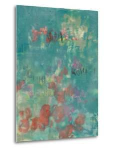 Teal Rose Garden II by Jennifer Goldberger
