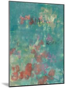 Teal Rose Garden II by Jennifer Goldberger