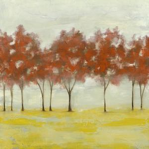 Terra Cotta Trees I by Jennifer Goldberger