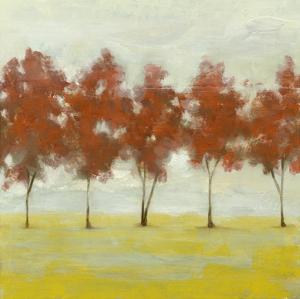 Terra Cotta Trees II by Jennifer Goldberger