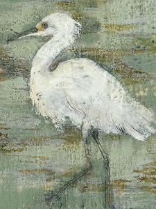 Textured Heron I by Jennifer Goldberger