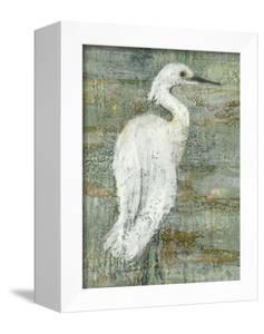 Textured Heron II by Jennifer Goldberger