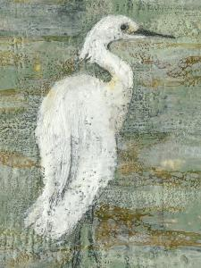 Textured Heron II by Jennifer Goldberger