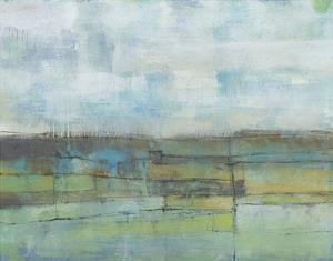 Tiered Farmland I by Jennifer Goldberger