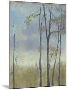 Tree-Lined Wheat Grass I by Jennifer Goldberger