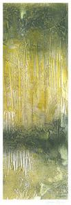 Treeline Abstract II by Jennifer Goldberger