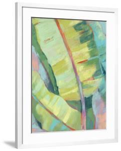 Vibrant Palm Leaves I by Jennifer Goldberger