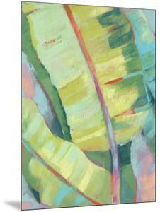 Vibrant Palm Leaves I by Jennifer Goldberger