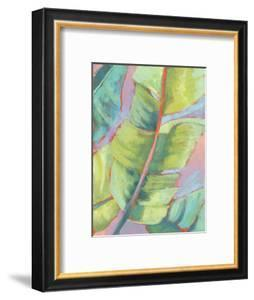 Vibrant Palm Leaves II by Jennifer Goldberger