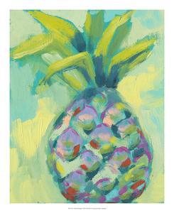 Vibrant Pineapple I by Jennifer Goldberger