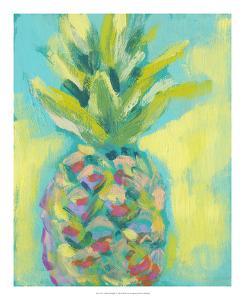 Vibrant Pineapple II by Jennifer Goldberger