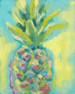 Vibrant Pineapple II by Jennifer Goldberger