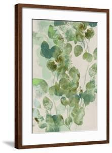 Watercolor Eucalyptus I by Jennifer Goldberger
