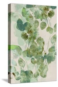 Watercolor Eucalyptus I by Jennifer Goldberger