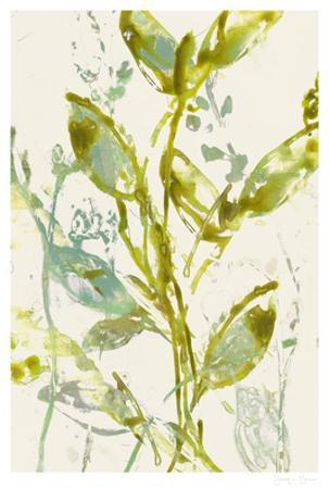 Watercolor Leaves I by Jennifer Goldberger