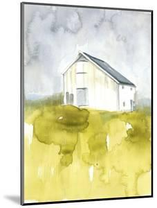 White Barn on Citron I by Jennifer Goldberger