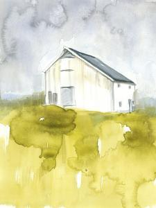 White Barn on Citron I by Jennifer Goldberger