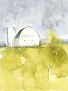White Barn on Citron II by Jennifer Goldberger